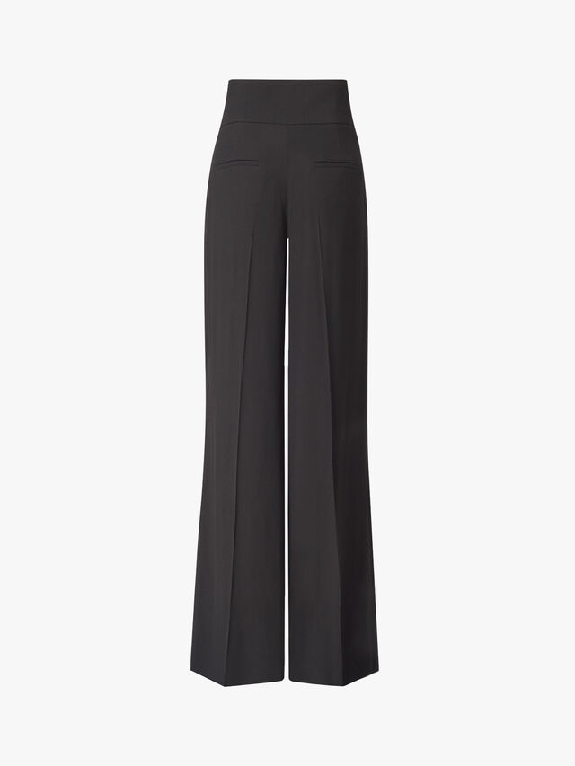 Pascolo High Waisted Wide Trousers