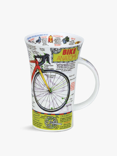 Glencoe Bike Anatomy Mug