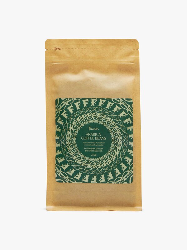 Full-Bodied Whole Bean Coffee 250g