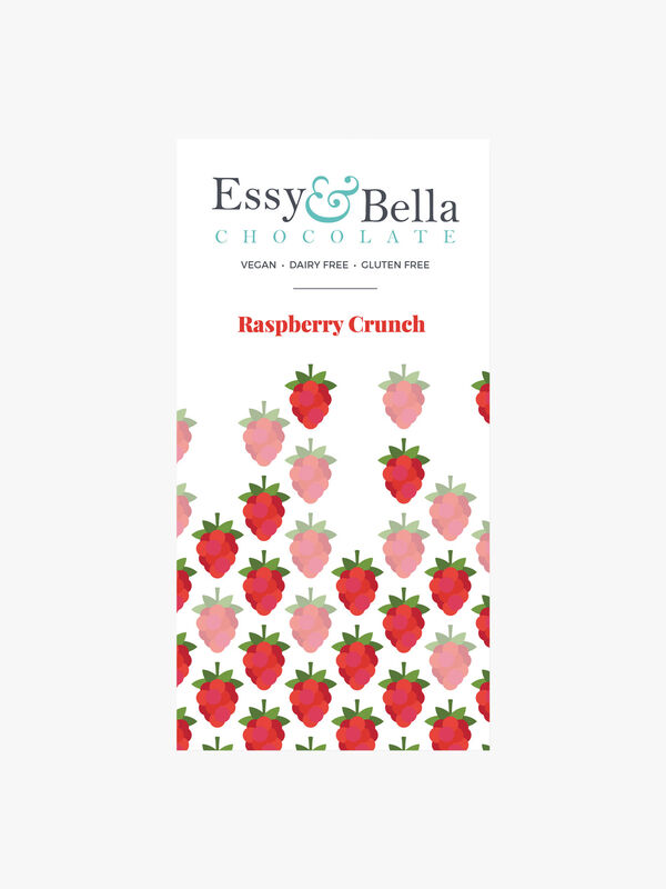 Alternative to Milk Raspberry Crunch Bar