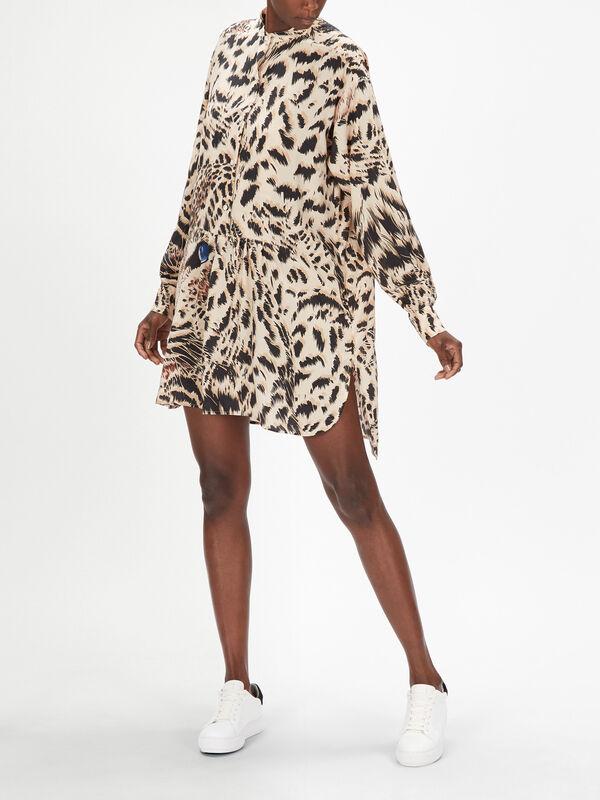 Animal Printed Dress