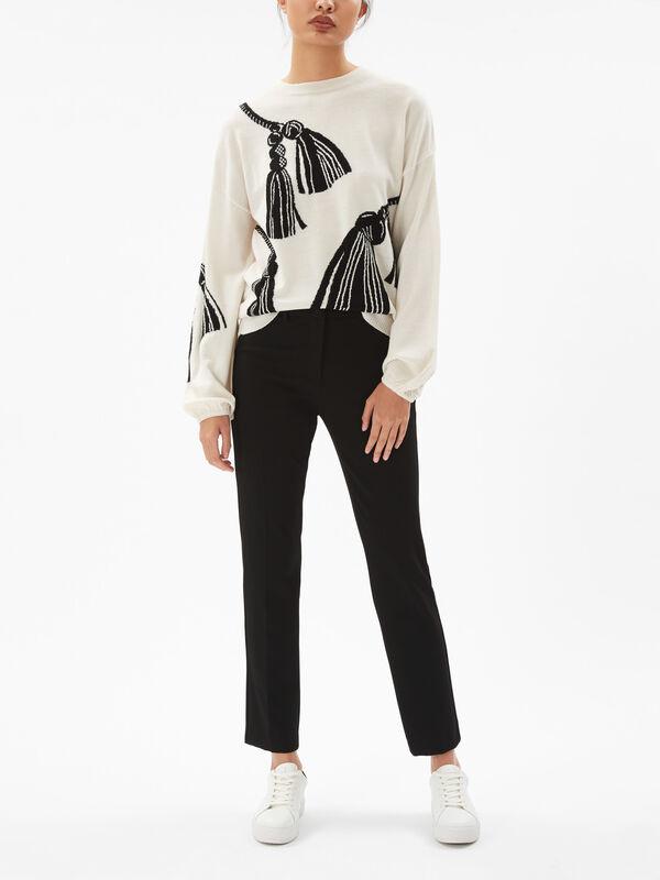 Passion Ballon Sleeve Sweater
