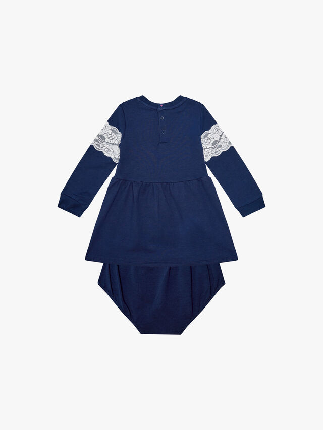 Long Sleeve French Terry Dress