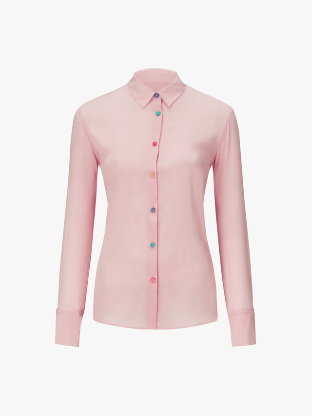 Silk Multi Button Shirt
