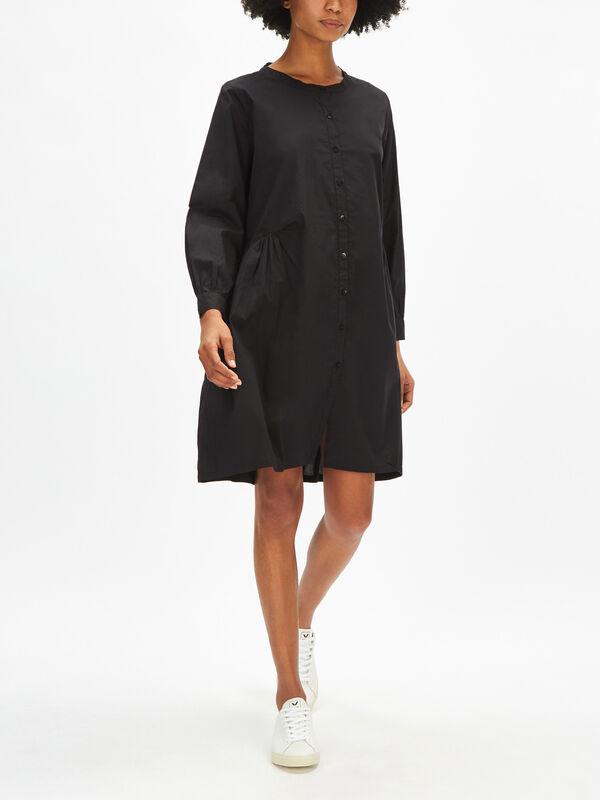Nelly Poplin Shirt Dress