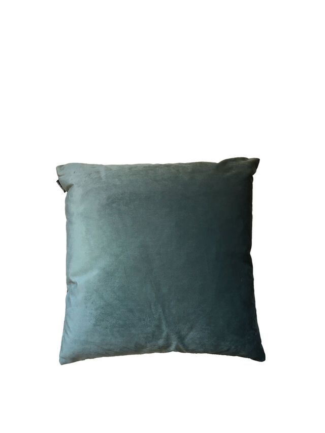 Palm Cushion Cover Blue