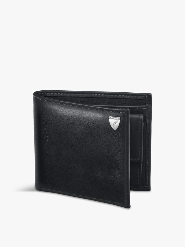 Leather Billfold Coin Wallet
