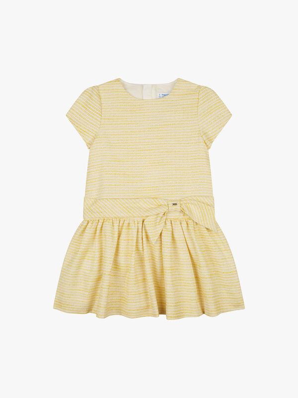 Textured & Bow Dress
