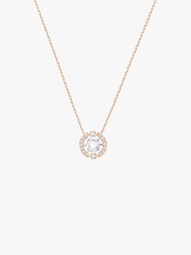 Sparkling Round Necklace