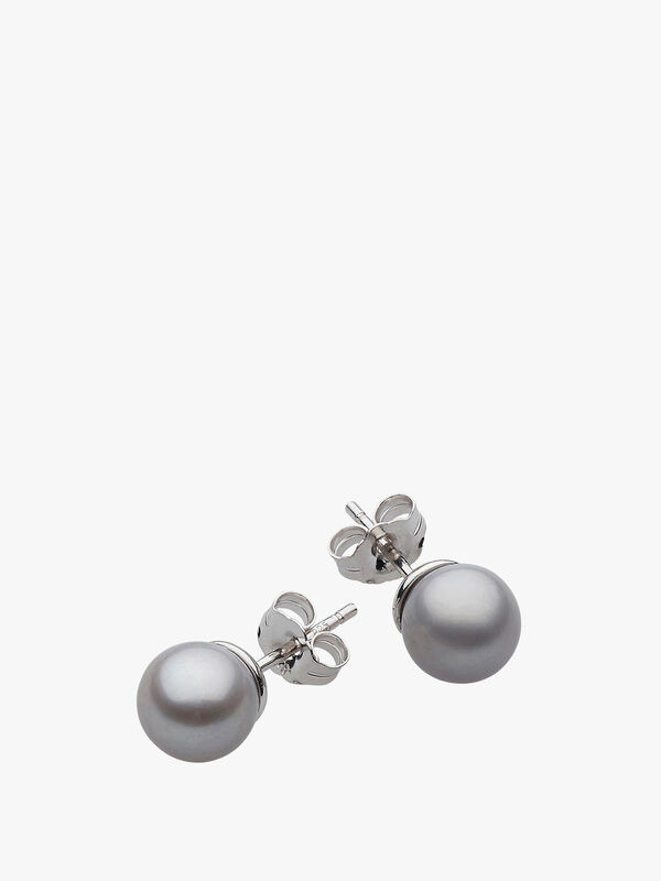 Desire Lustrous Freshwater Pearl Studs