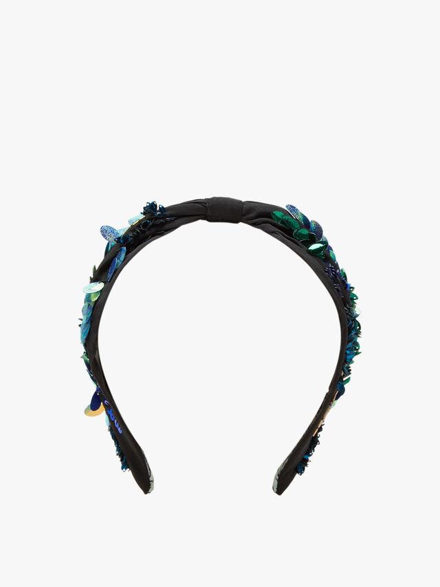 Sequin and Mix Beaded Headband