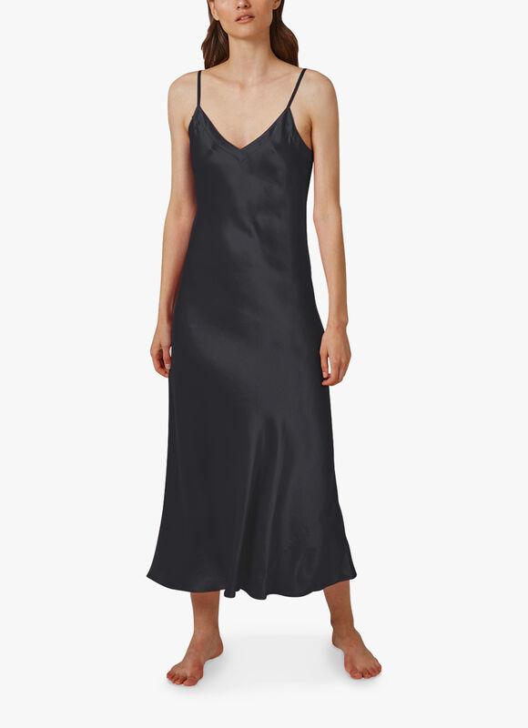 Long V Neck Nightdress