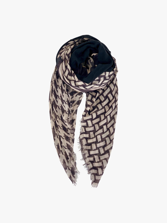 Patch Deluxe Leopard Scarf