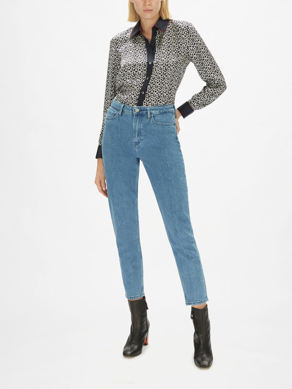 Gramercy Tapered High Rise Jeans