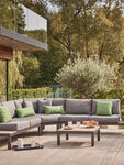 Elba Standard Low Corner Sofa with Coffee Table