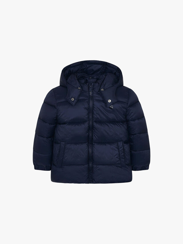 Basic Hooded Puffa Coat