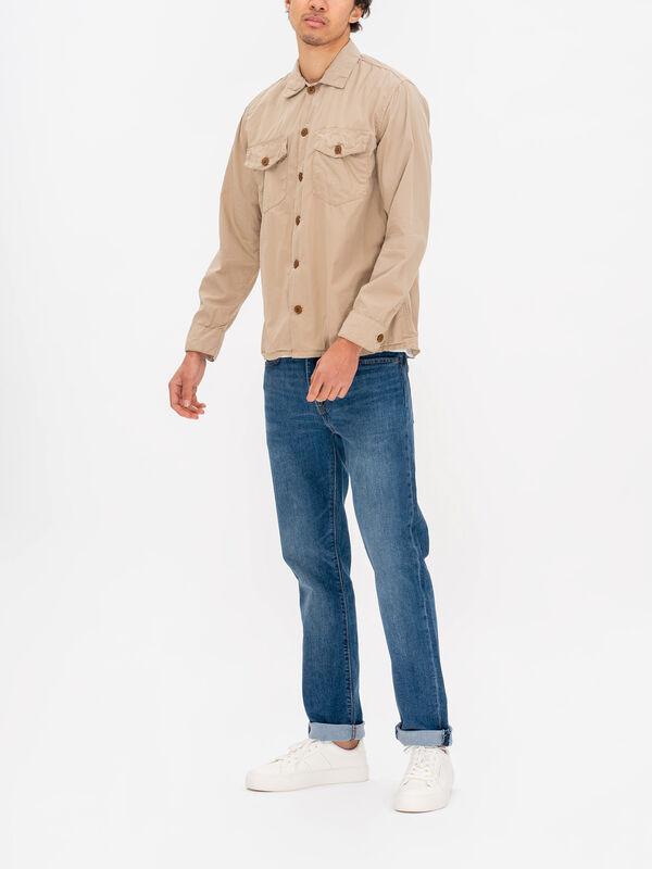 Jame Army Poplin Overshirt