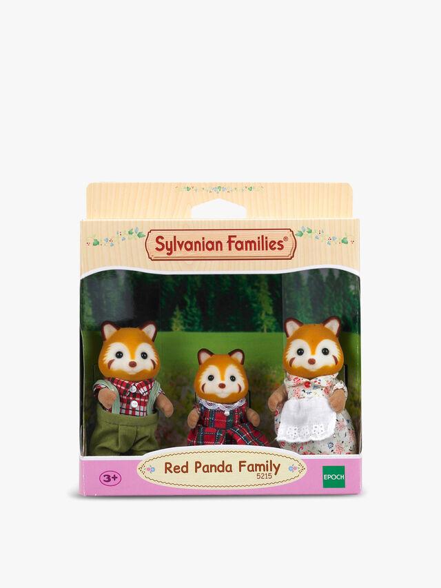 Red Panda Family (3 Figures)