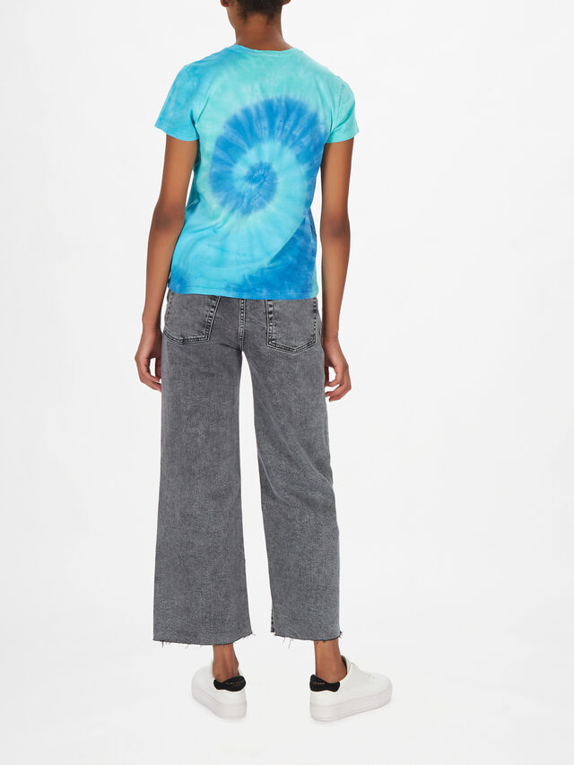 Tie Dye Bear Short Sleeve T-Shirt