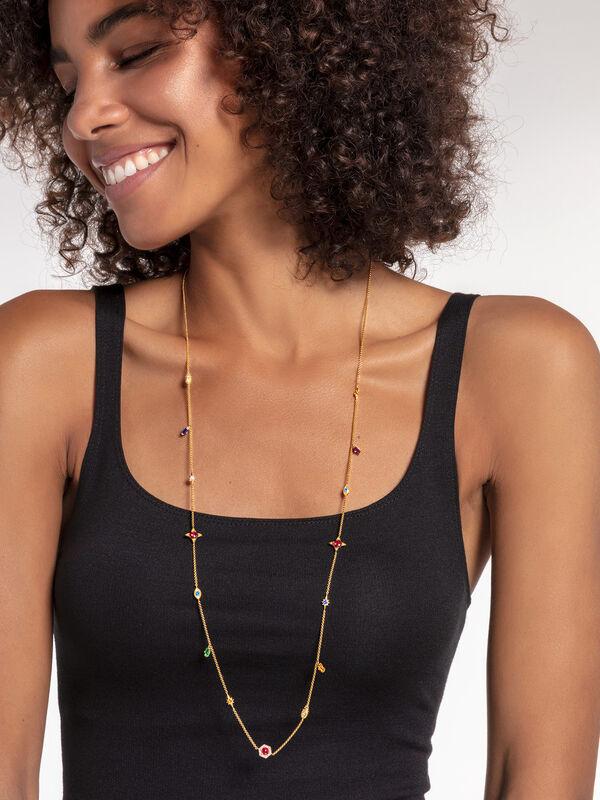 Magic Stones Long Necklace