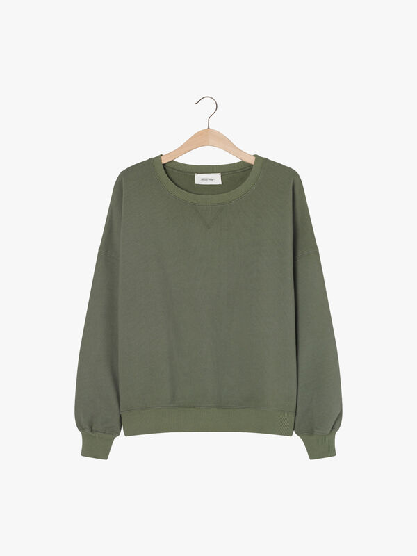 Round-Collar Sweatshirt