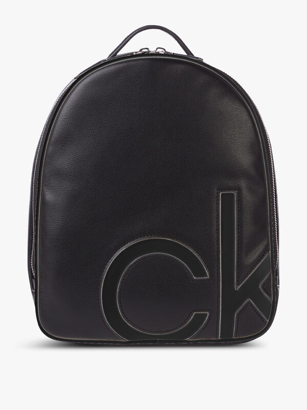 CK Embedded Round Backpack Small