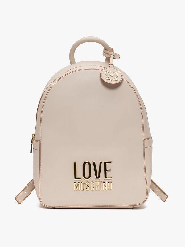 Logo and Tassel Backpack