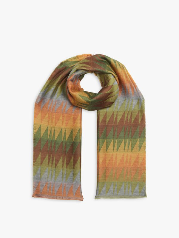 Polaire Small Triangles Scarf