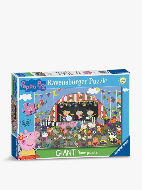 Peppa Pig Family Celebrations Giant Floor Puzzle 24pc