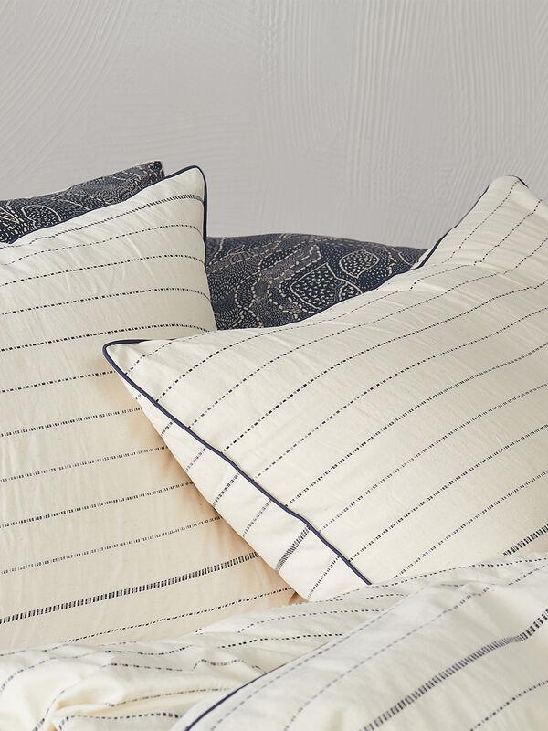 Woven Dash Single Pillowcase
