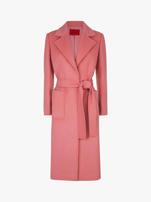 Runaway Belted Wool Coat