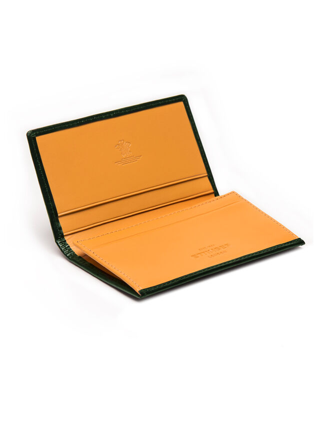 Bridle Hide Visiting Card Case