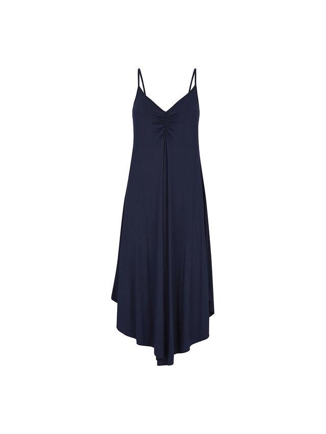 Strappy Maxi Jersey Dress