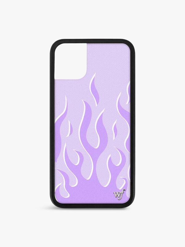 Lavender Flames Iphone 11 Case
