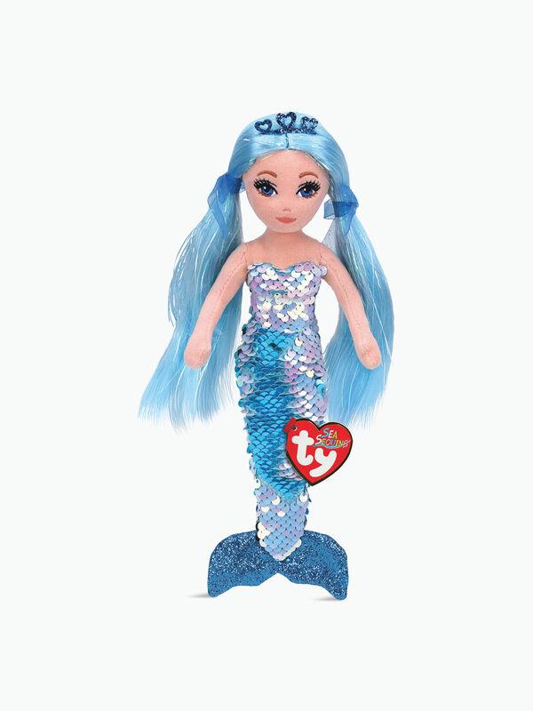 Indigo Aqua Sequin Mermaid Regular