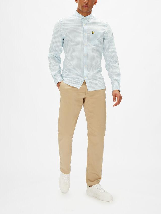 Slim Gingham Shirt