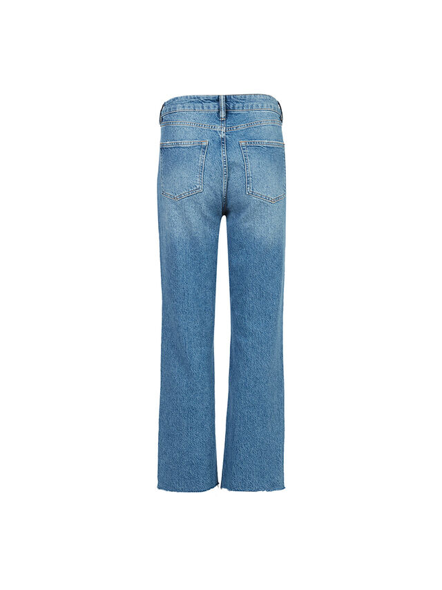 Barely Cropped Bootcut Jean