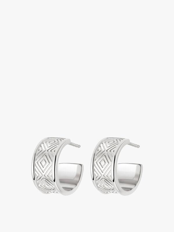 Artisan Chunky Hoop Earring