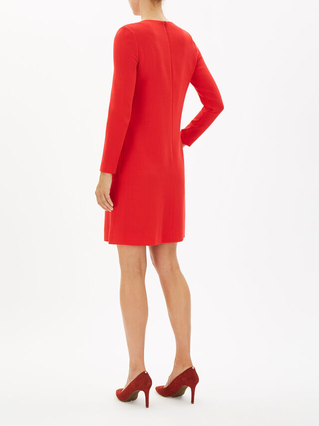 Tunic Dress with Button Detail