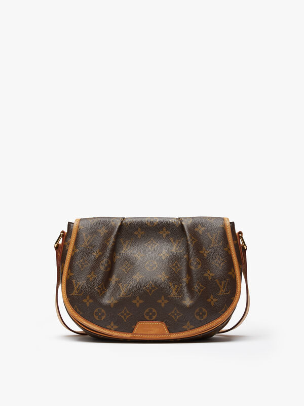 Louis Vuitton Monogram AB Menilmontant PM