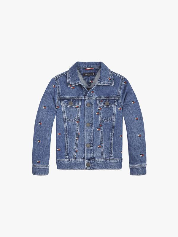Oversized Trucker Denim Jacket