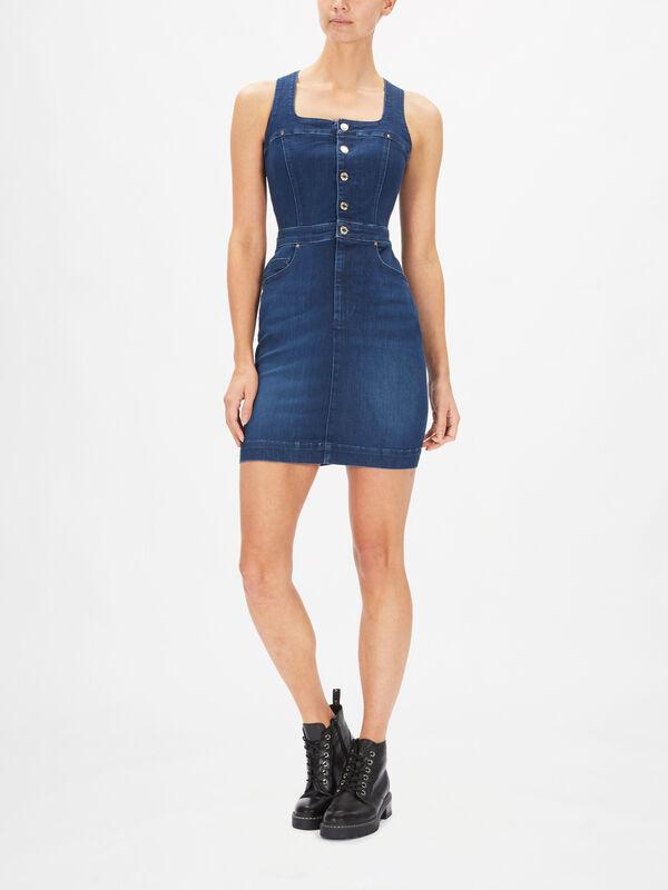 Margot Bi-Stretch Denim Dress