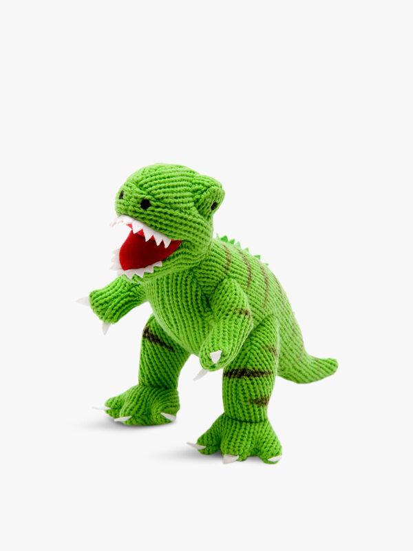 Knitted T-rex Medium Toy