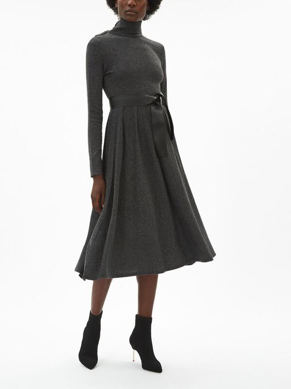 Drenare Cashmere Blend Jersey Dress
