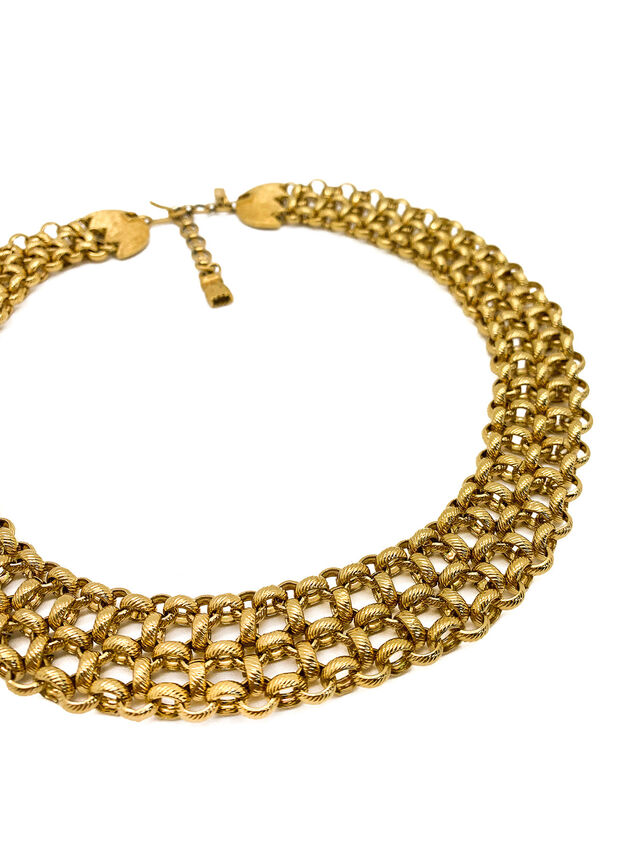 Vintage Monet Chain Collar Necklace