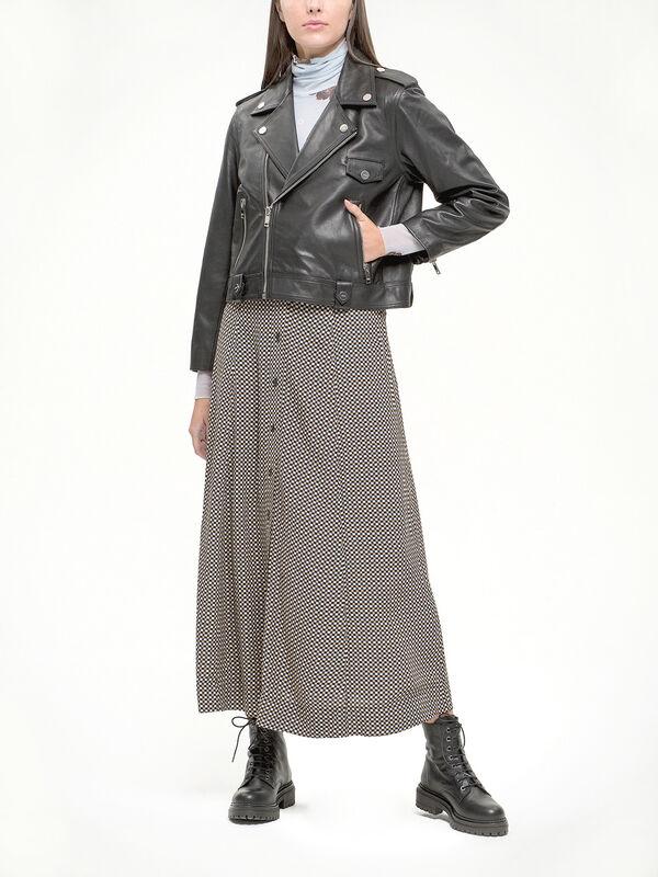 Light Grain Leather Jacket