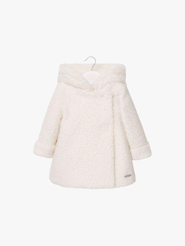 Boiled Wool Swing Coat