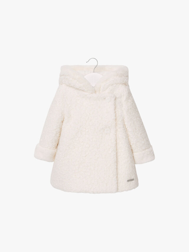 Boiled Wool Swing Coat