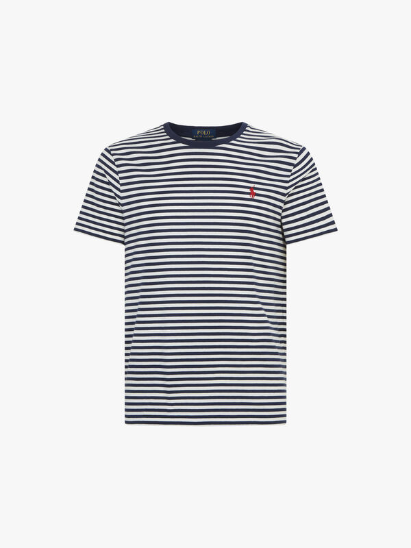 Custom Slim Fit Striped T-Shirt