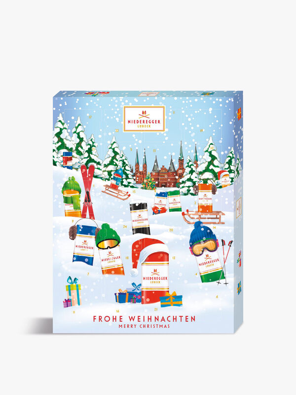 Winter Classics Marzipan Advent 300g
